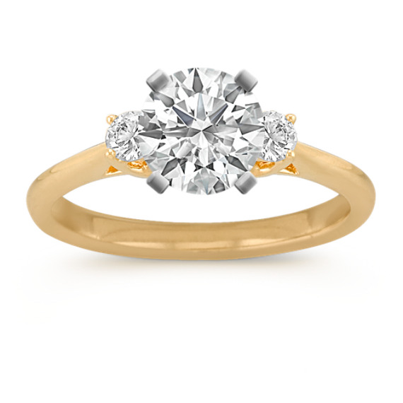 Classic Three-Stone Engagement Ring