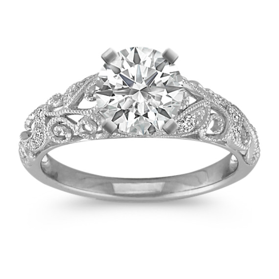 jewellery com cushion shape gold ring rings style white with a center dp classic halo engagement diamond carat h amazon i