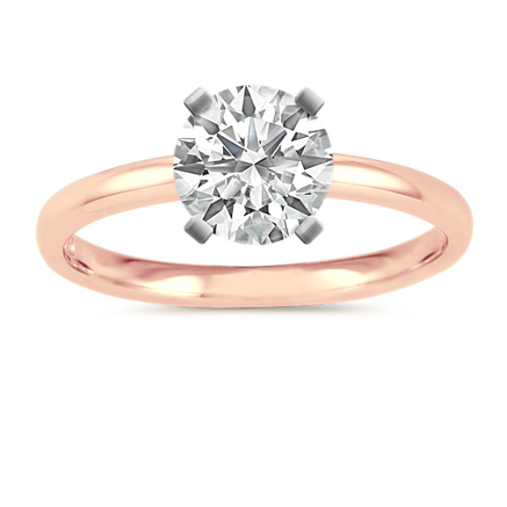 Classic Engagement Ring in 14k Rose Gold
