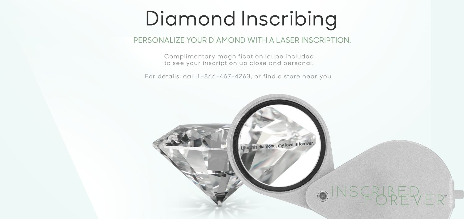 Locate A Store to Personalize Your Diamond with Inscribing