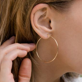 e1c3ea763225a Yellow Gold Hoop Earrings | Hoop Earrings | Shane Co.