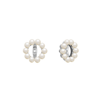 2 5mm Cultured Freshwater Pearl Earring Jackets