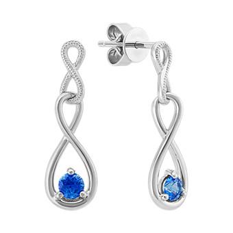 f2783a0d836f7 Sapphire Earrings | Sapphire & Gemstone Earrings | Shane Co.