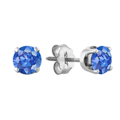 jewelry earrings sapphire purple pearl classic color dp amazon faux com stud mens violet