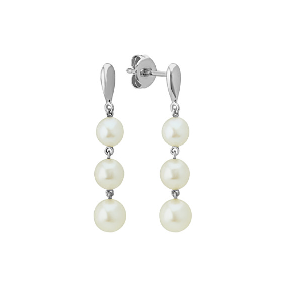 4.5mm Cultured Freshwater Pearl Earrings