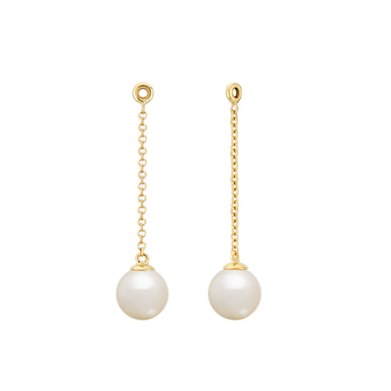 6 5mm Cultured Freshwater Pearl Earring Jacket