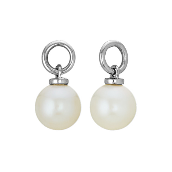 6mm Cultured Freshwater Pearl Earring Jackets