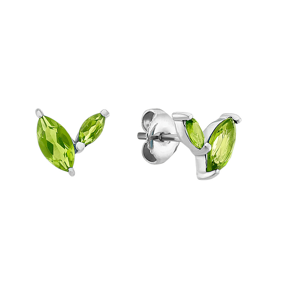 bezel peridot co earrings sterling shane p fashion silver in set m pear stud shaped