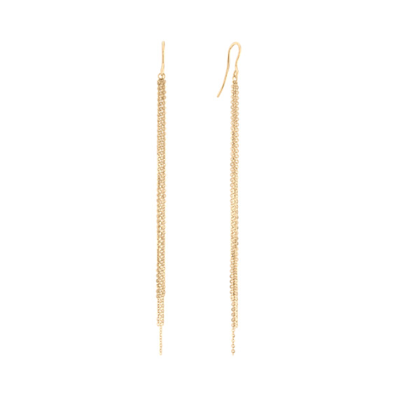 Tassel Earrings in 14k Yellow Gold