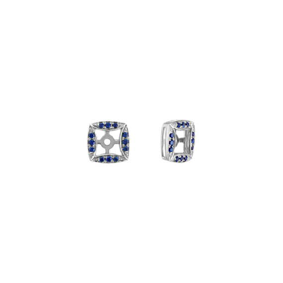 Traditional Blue Sapphire Earring Jackets