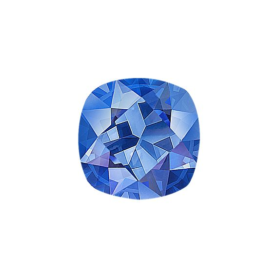 Cushion Cut Kentucky Blue Sapphire