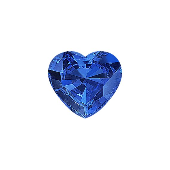 Heart Traditional Blue Sapphire