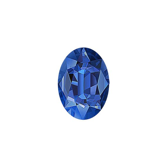 Oval Traditional Blue Sapphire