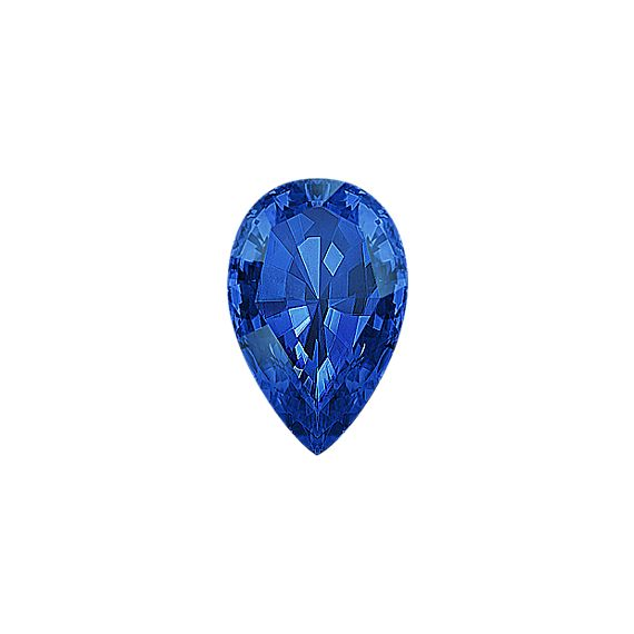Pear Traditional Sapphire