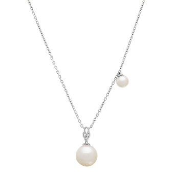 dcf0db719 Sterling Silver Necklaces and more Pearl Jewelry | Shane Co.
