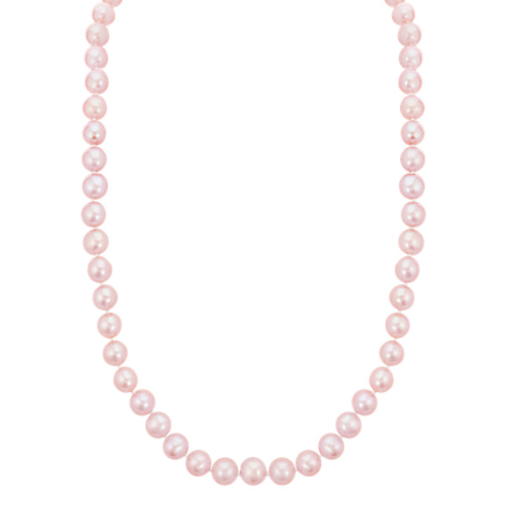 7mm Pink Cultured Freshwater Pearl Strand (18 in.)