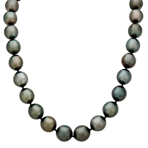 11mm Cultured Tahitian Pearl Strand Necklace (18 in.)