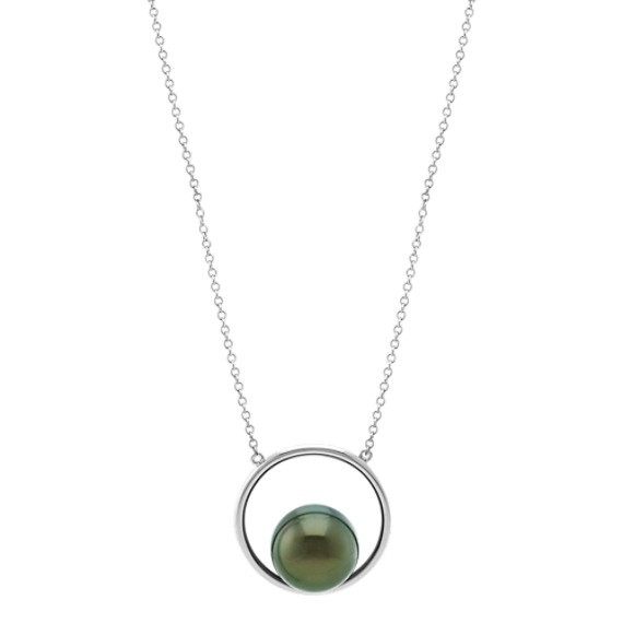 10mm Cultured Tahitian Pearl Necklace (30 in)