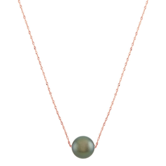 10mm Tahitian Pearl Pendant (22 in)