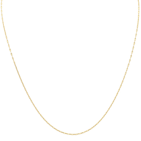 14k Yellow Gold Anchor Chain (18 in.)
