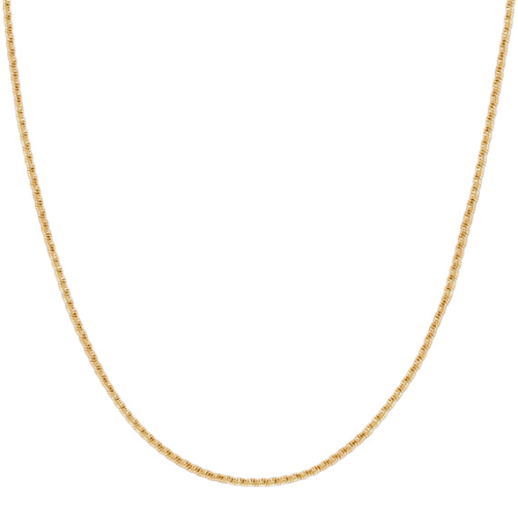 14k Yellow Gold Coil Chain (18 in)