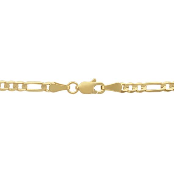 14k Yellow Gold Figaro Chain (24 in) image
