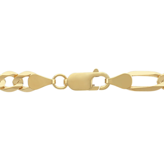 14k Yellow Gold Figaro Chain (24 in) image
