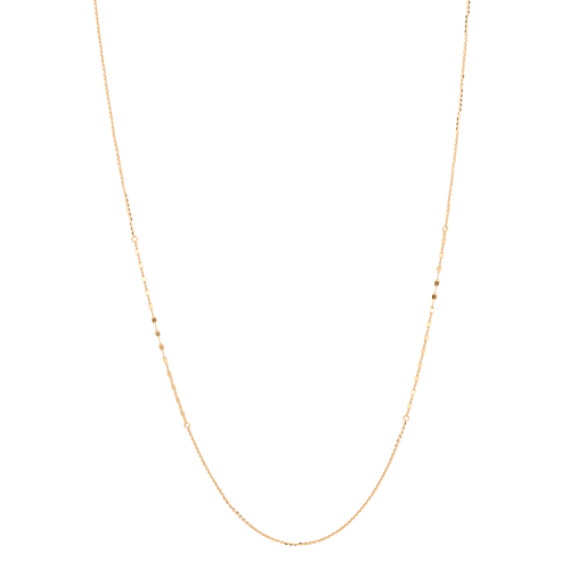 14k Yellow Gold Necklace (36 in)
