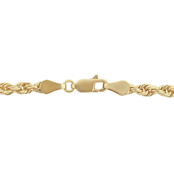 14k Yellow Gold Twisted Rope Chain (24 in) image