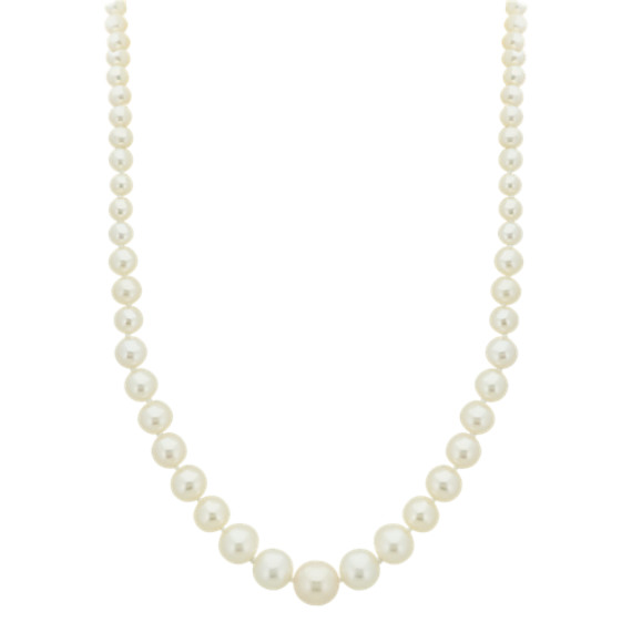 5-11mm Graduated Cultured Freshwater Pearl Strand (18 in)