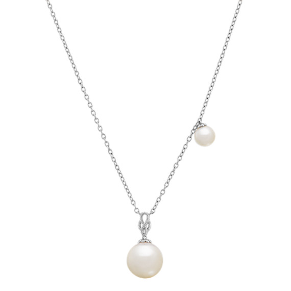 e5ca0e91d1632 5-9.5mm Cultured Freshwater Pearl Necklace (18 in)