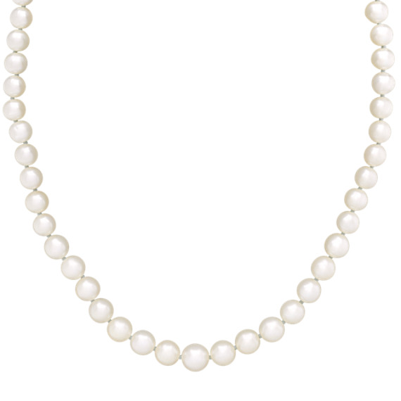 6-9mm Graduated Cultured Freshwater Pearl Strand (18 in)