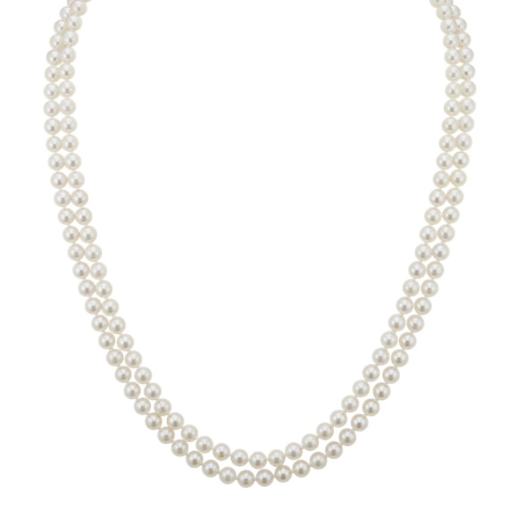 6.5mm Cultured Akoya Pearl Endless Strand (65 in)