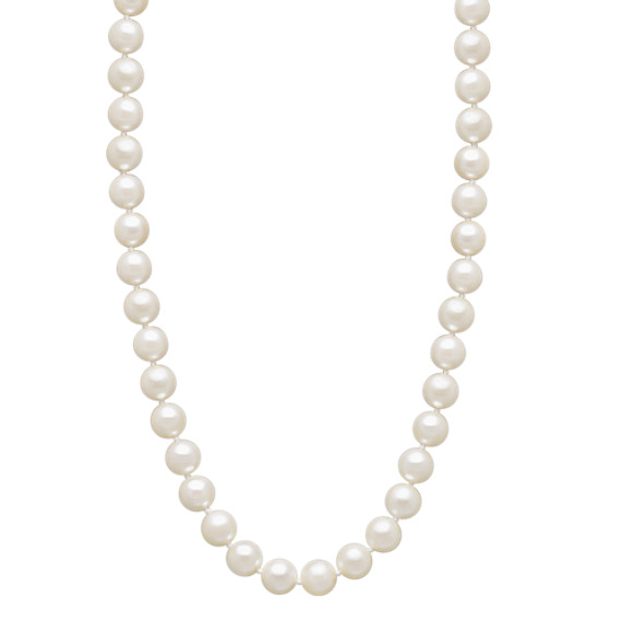 6mm Cultured Akoya Pearl Strand (18 in)