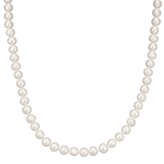 6mm Cultured Freshwater Pearl Strand (16 in)