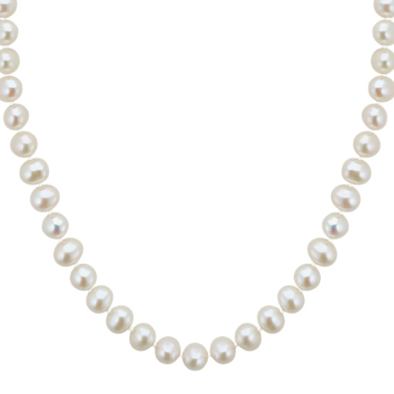 6mm Cultured Freshwater Pearl Strand (18 in)