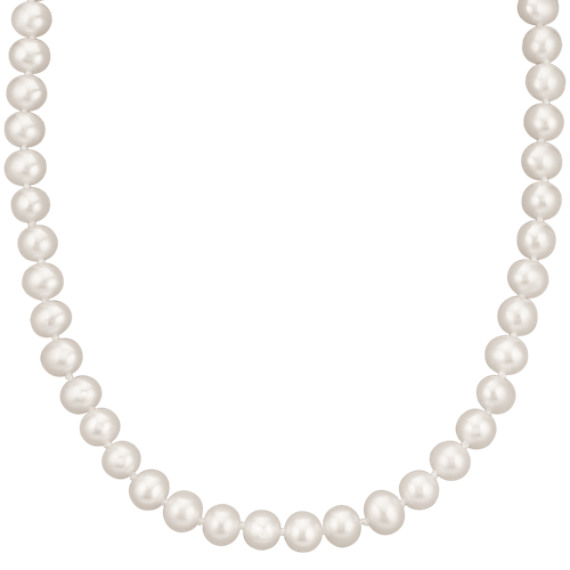 7mm Cultured Freshwater Pearl Strand (18 in)