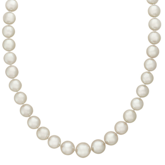 8-10mm Pink Cultured Akoya Pearl Strand (18 in)