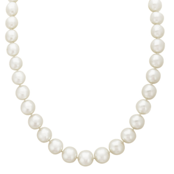 8mm Cultured South Sea Pearl Strand Necklace (18 in.)