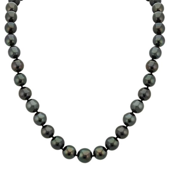 9-11mm Cultured Tahitian Pearl Strand (18 in)