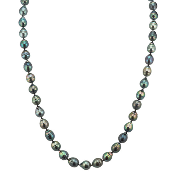 9-11mm Cultured Tahitian Pearl Strand (36 in)