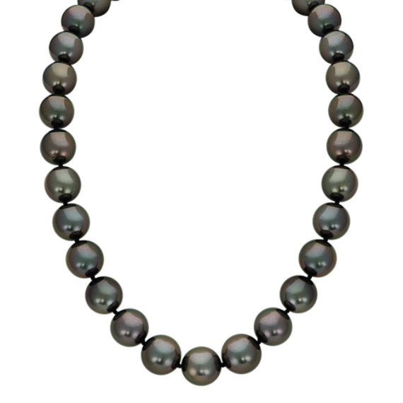 9-12mm Cultured Tahitian Pearl Strand (18 in)