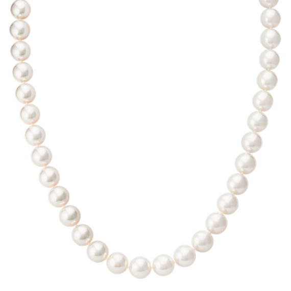 9mm Cultured Akoya Pearl Necklace (18 in)
