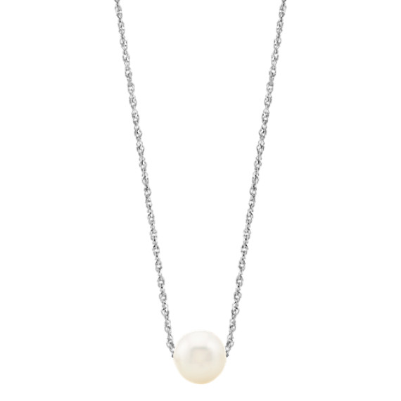 9mm Cultured Freshwater Pearl Necklace (20 in)
