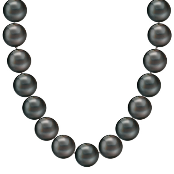 9mm Cultured Tahitian Pearl Necklace (18 in)
