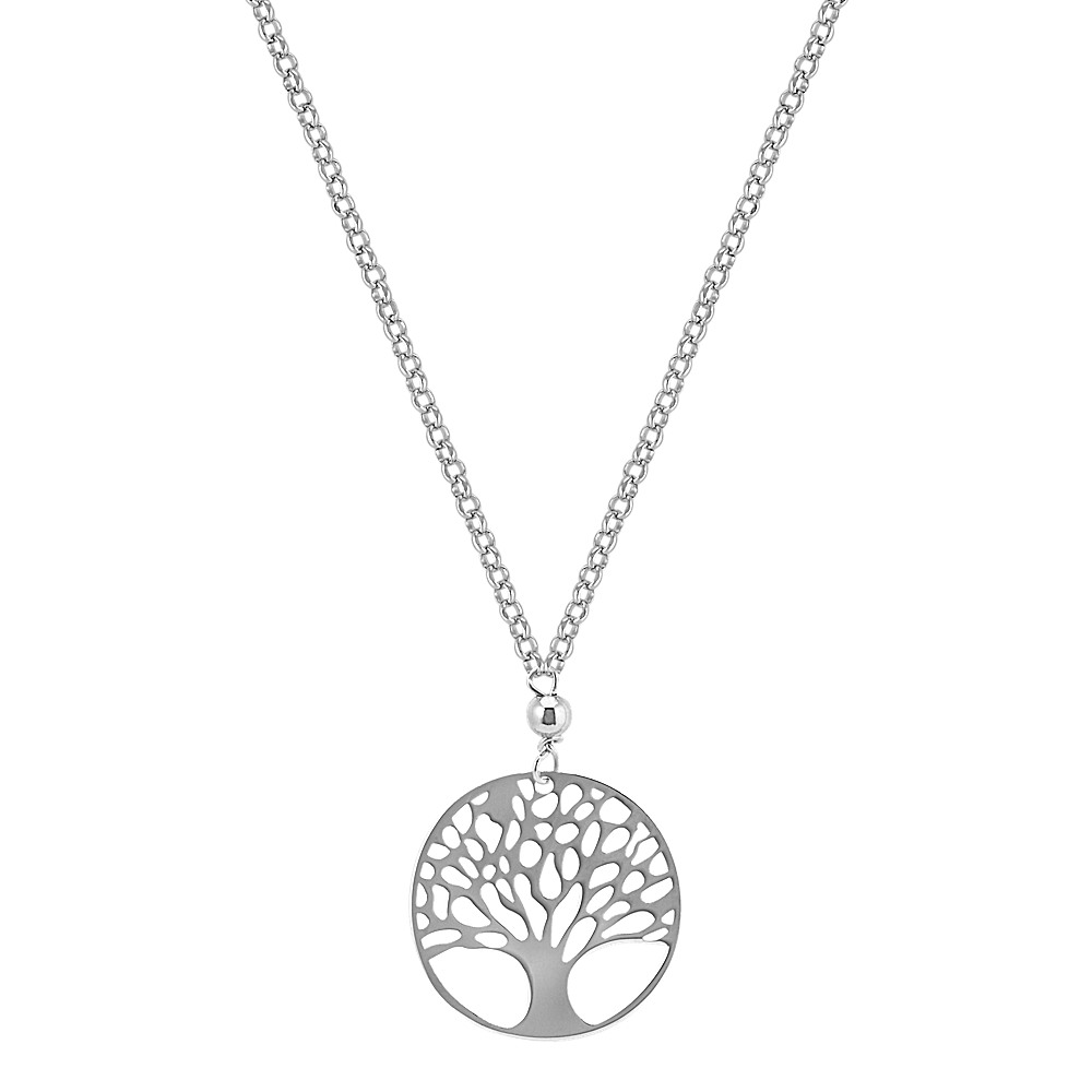 quartz dp amazon beads long stone green of com eternal life jewelry tree yhtl necklace brass