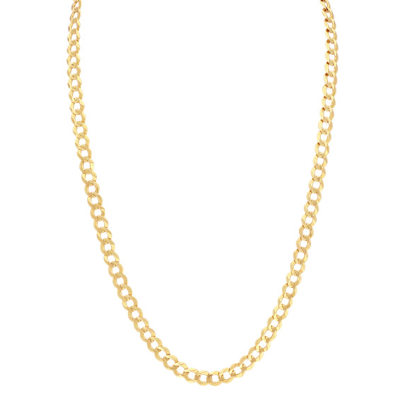 Curb Chain in 14k Yellow Gold (26 in)