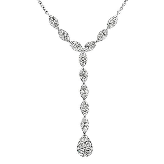 Diamond Dangle Necklaces (18 in)