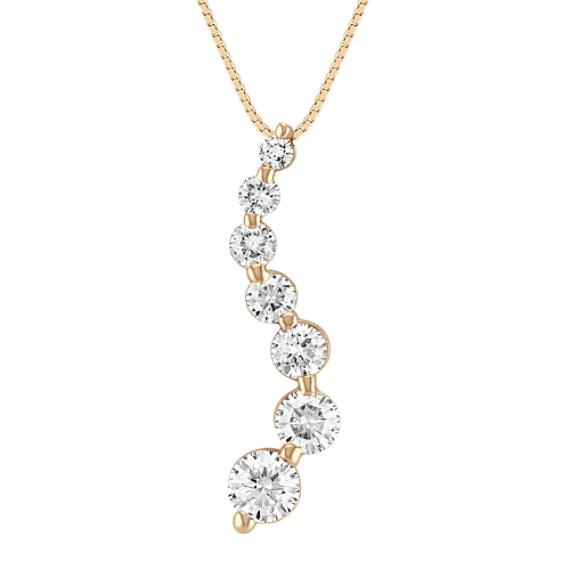 Diamond Journey Pendant (18 in)