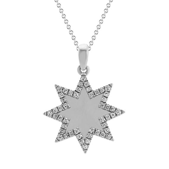 Diamond Star Pendant (20 in)